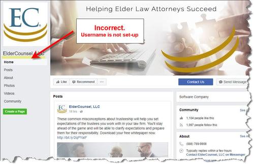 facebook username is not setup.jpg