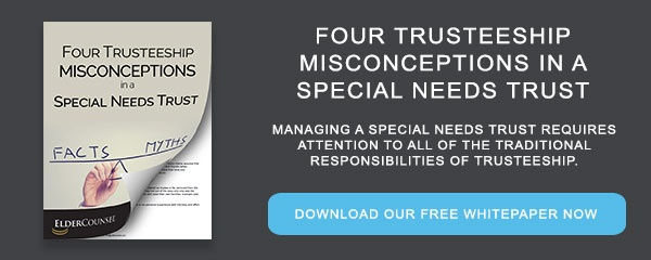 Whitepaper: 4 Trusteeship Misconceptions in a Special Needs Trust