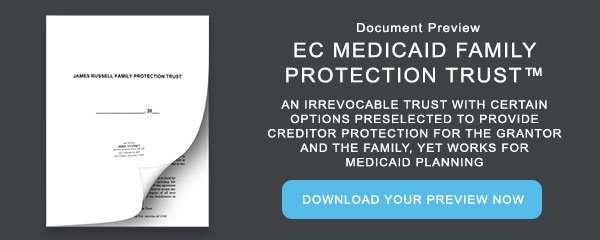 Document Preview: Medicaid Family Protection Trust