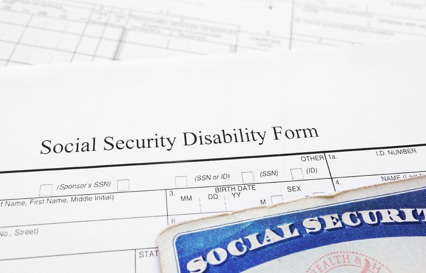 Social Security Disability application form and Social Security card.jpg
