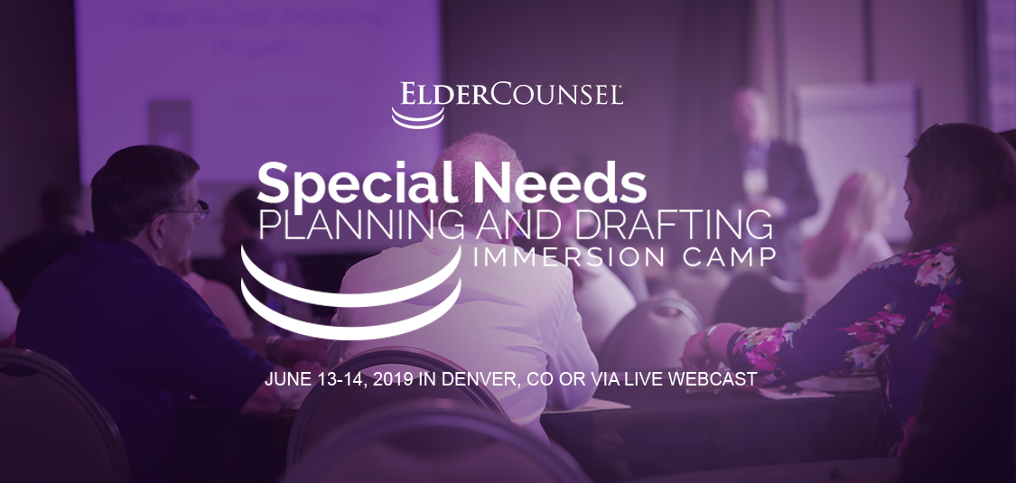 2019-06-13-Special-Needs-Planning-and-Drafting-Immersion-Camp