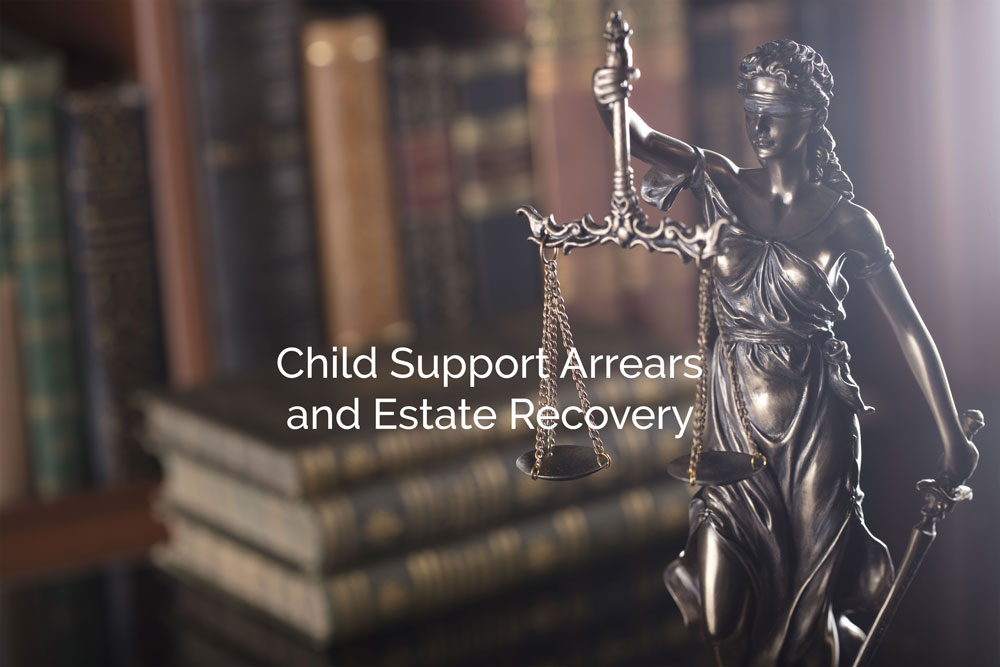 Child Support Arrears and Estate Recovery